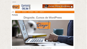 Resultado Tutorial WordPress Basico